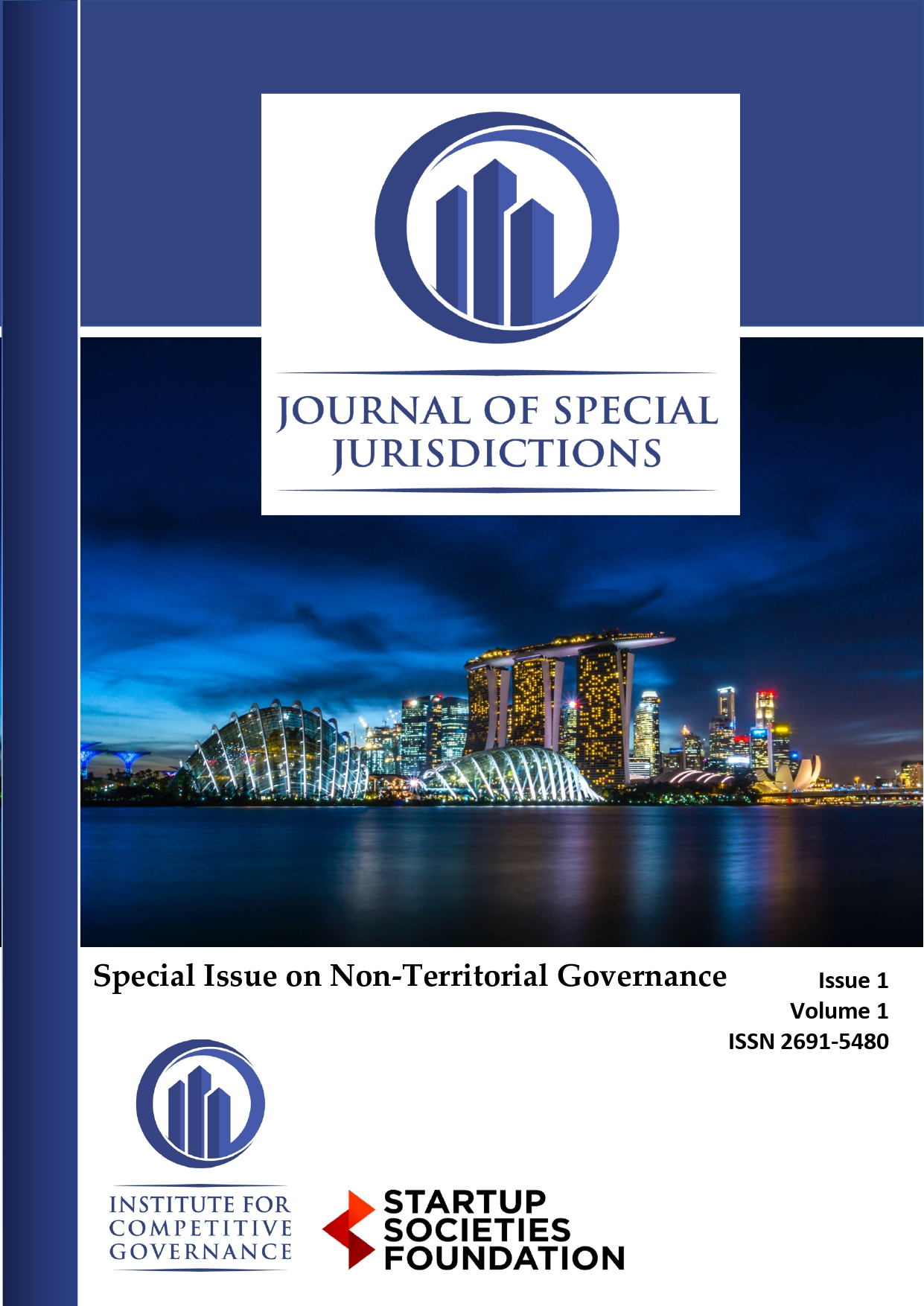 Journal of Special Jurisdictions non-territorial governance Startup Societies Foundation